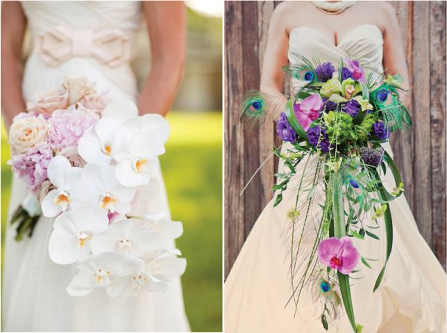 Wedding Trends} : Cascading Flowers - Belle The Magazine