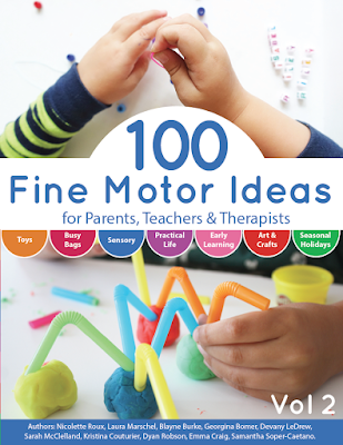 100 Fine Motor Ideas the book from And Next Comes L