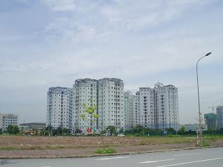Blocco di appartamenti nei pressi del Grattacielo Keangnam