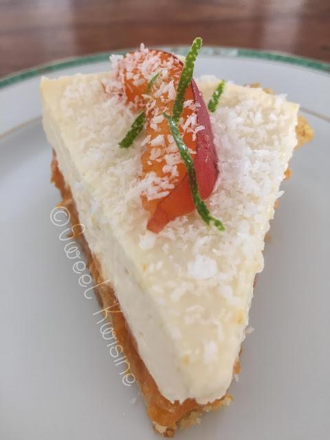 Sweet Kwisine, tarte, crumble, coco, noix de coco, abricot, Claire Heitzler, pâtisserie, cuisine antillaise