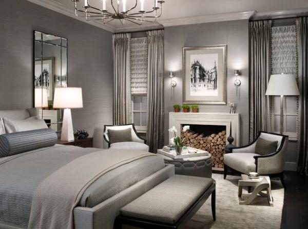 Dormitorio matrimonial glamuroso