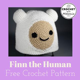 Finn the Human Hat Free Crochet Pattern