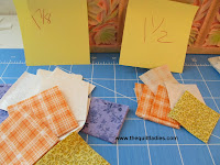 how to make the quilt block autumn night