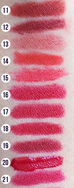 Red Lipstick Comparison Swatches | 31 Days of Lipstick (Crappy Candle)