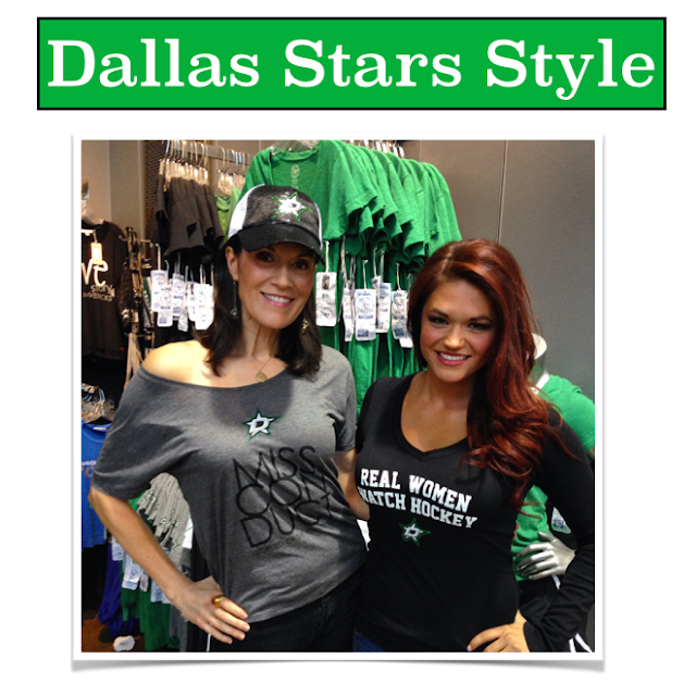 Dallas Stars Style, Dallas Stars Ice Girls, Dallas Stars gear