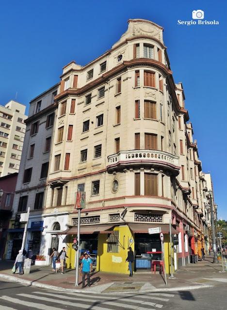 Vista ampla do Edifício Bracaiuva - Santa Cecilia - São Paulo
