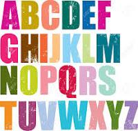 حروف الهجاء الانجليزية Letters on the English , حروف الهجاء الانجليزية Letters on the English