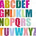 حروف الهجاء الانجليزية Letters on the English