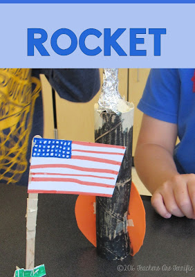 STEM Challenge Mystery Build: Each team builds something different. They must choose the materials needed for the task and stay within a budget! A rocket is one of the tasks! FREEBIE!