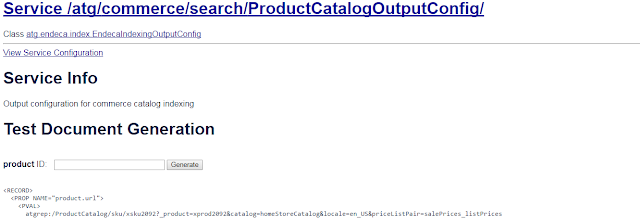 ProductCatalogOutputConfig  component