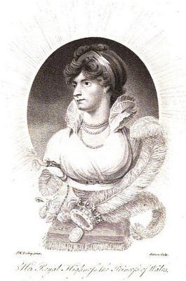Caroline, Princess of Wales  from La Belle Assemblée (1806)