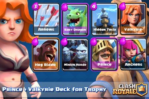 Strategi serangan Prince dan Valkyrie di Arena 4