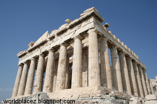 Acropolis Parthenon Athens Historical Place Of Greece World