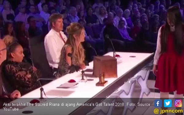 Duh, The Sacred Riana Gagal di America's Got Talent 2018