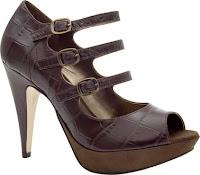 Sandália com meia calça