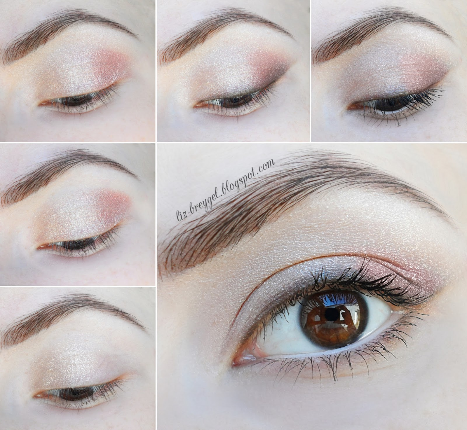 makeup look for everyday brown green eyes step by step tutorial with pictures