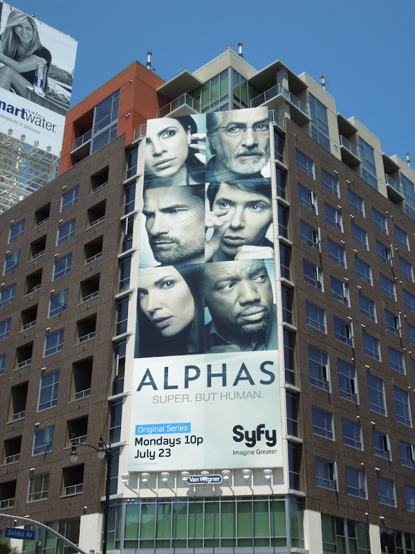 Giant Alphas season 2 billboard