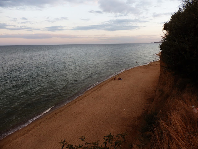 Plaża na ukraińskim wybrzeżu (Iljiczewsk)