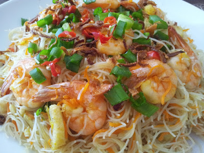 Mee Hoon Goreng Putih Simple