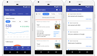 Aplikasi blog android