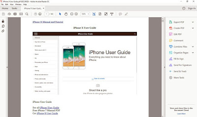 iPhone X User Guide PDF Download Link