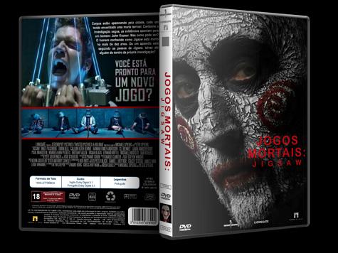 Capa DVD Jogos Mortais: Jigsaw [Custom]