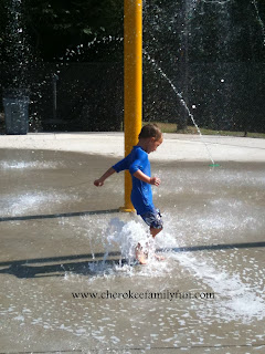 Cherokee Family Fun Waleska S Splash Pad Is A Blast