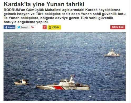 Στήνουν και πάλι «θερμό» επεισόδιο οι Τούρκοι στα Ίμια