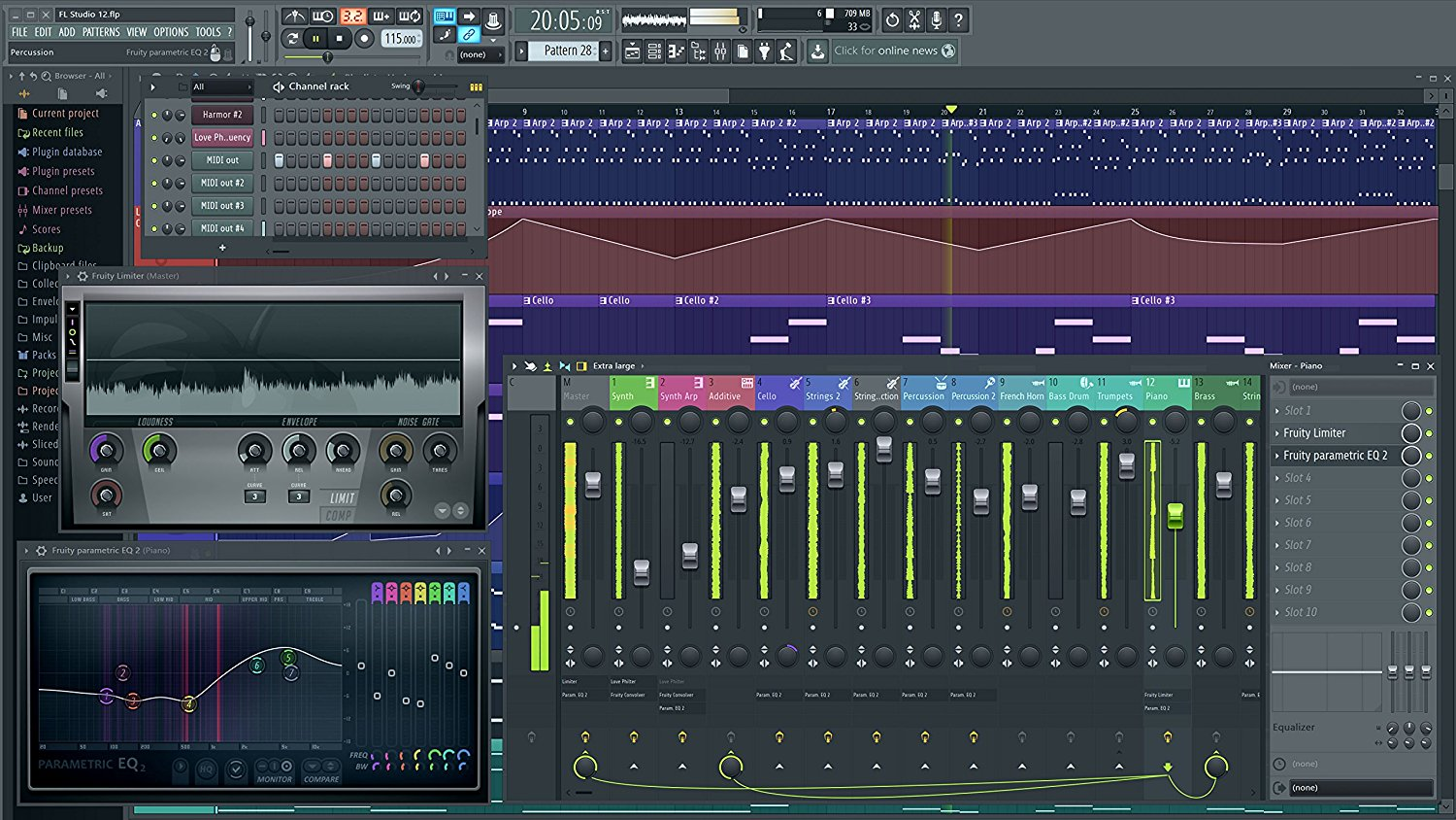 Free Download FL Studio Producer Edition 12.5.0