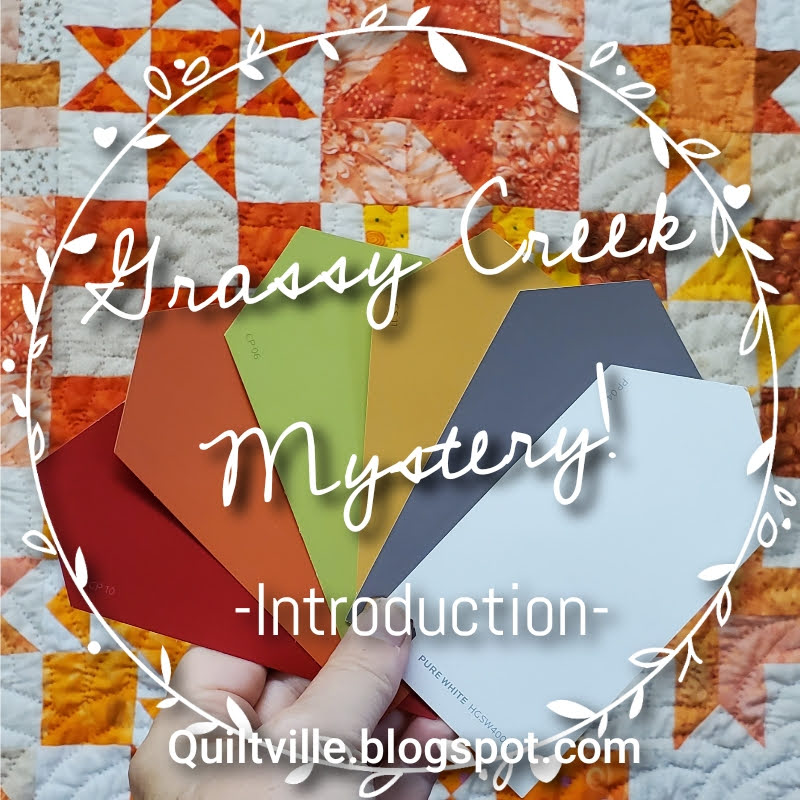 Grassy Creek Mystery @ Quiltville