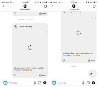 Begini Cara mengirim pesan audio di Instagram