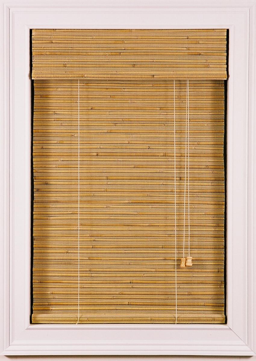 Light Bamboo Shades