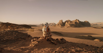 """The Martian"", based on novel by Andy Weir and directed by Ridley Scott. 2015"