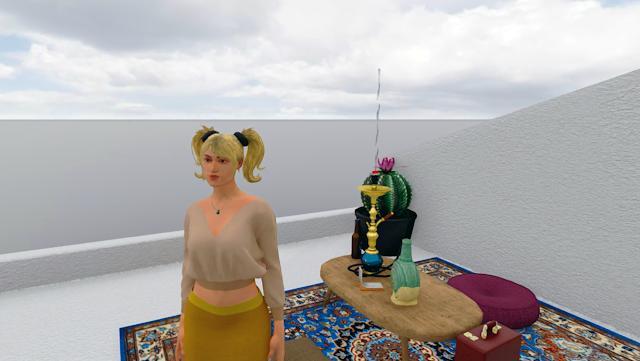 Sansar Fashion \\ virtual annika - bigeyedkitteh
