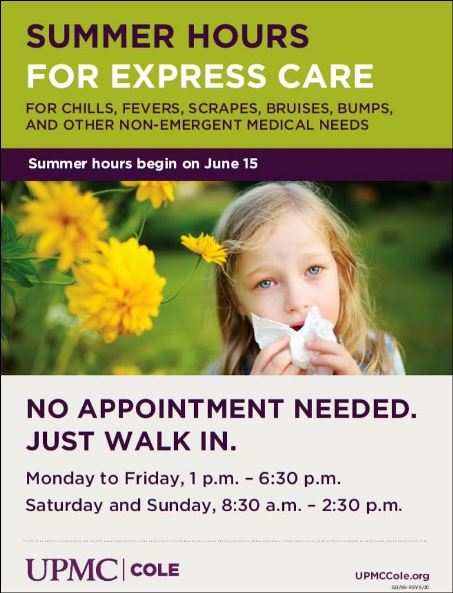 UPMC Cole EXPRESS CARE