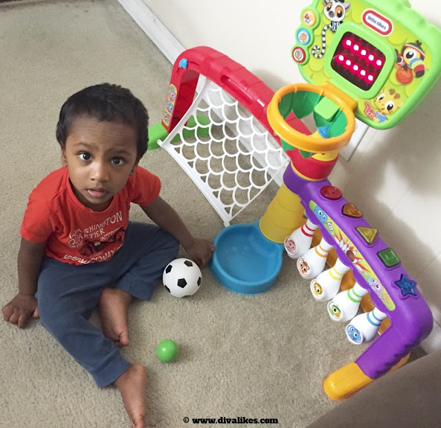 Little Tikes 3-in-1 Sports Zone Review