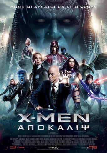 X-Men: Apocalypse (2016) ταινιες online seires xrysoi greek subs