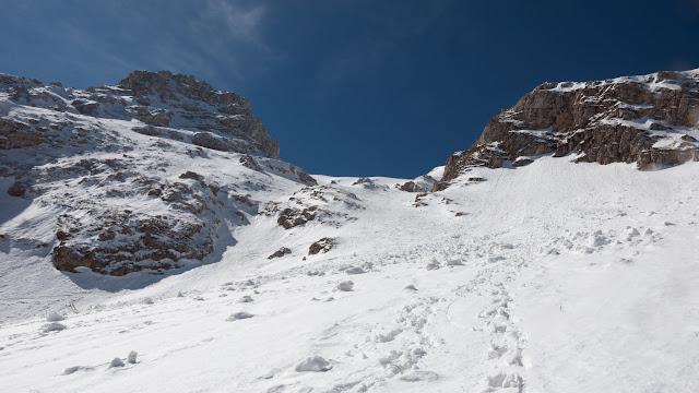 Monte Ocre, canale della Fossetta