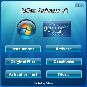 Windows 7 loader v2. 2. 2 by daz activator free download experts 7.