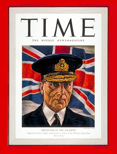 28 April 1941 worldwartwo.filminspector.com Time Magazine Sir Percy Noble