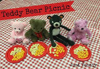 teddy bear picnic, www.justteachy.blogspot.com