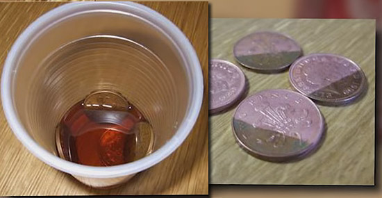 Truques de Limpeza com Coca-Cola - Desoxidando e limpando metais