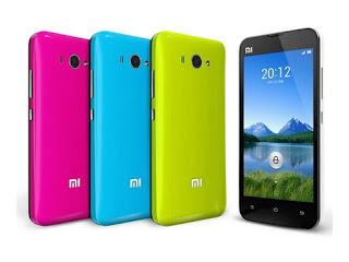 Xiaomi mi 2 en diferentes colores
