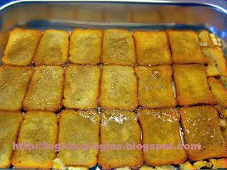 Εκμέκ με φρυγανιές και άνθος αραβοσίτου - από «Τα φαγητά της γιαγιάς»