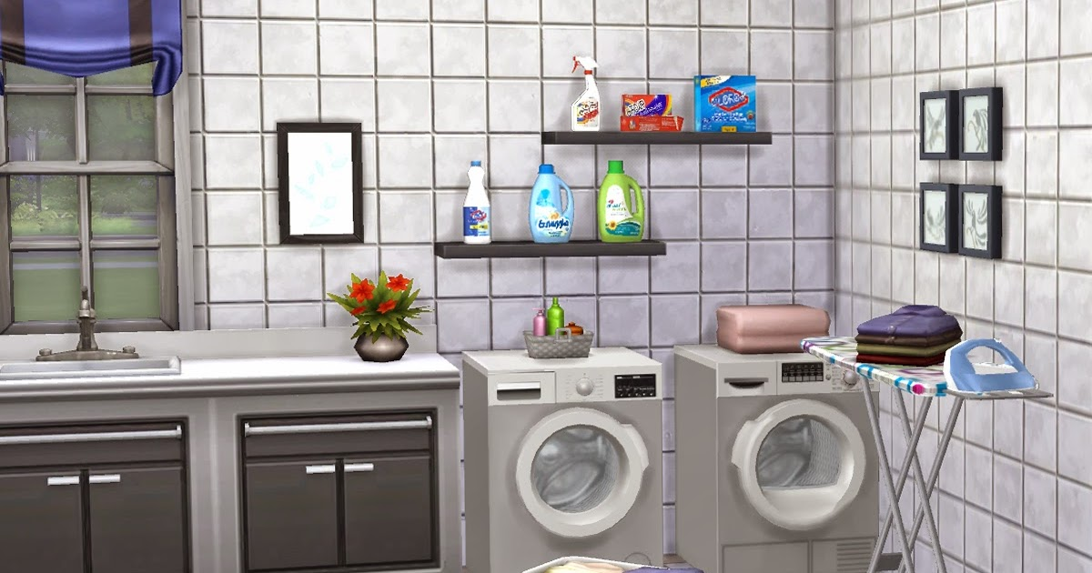 Mysimsworld Simple Laundry Room Detergents