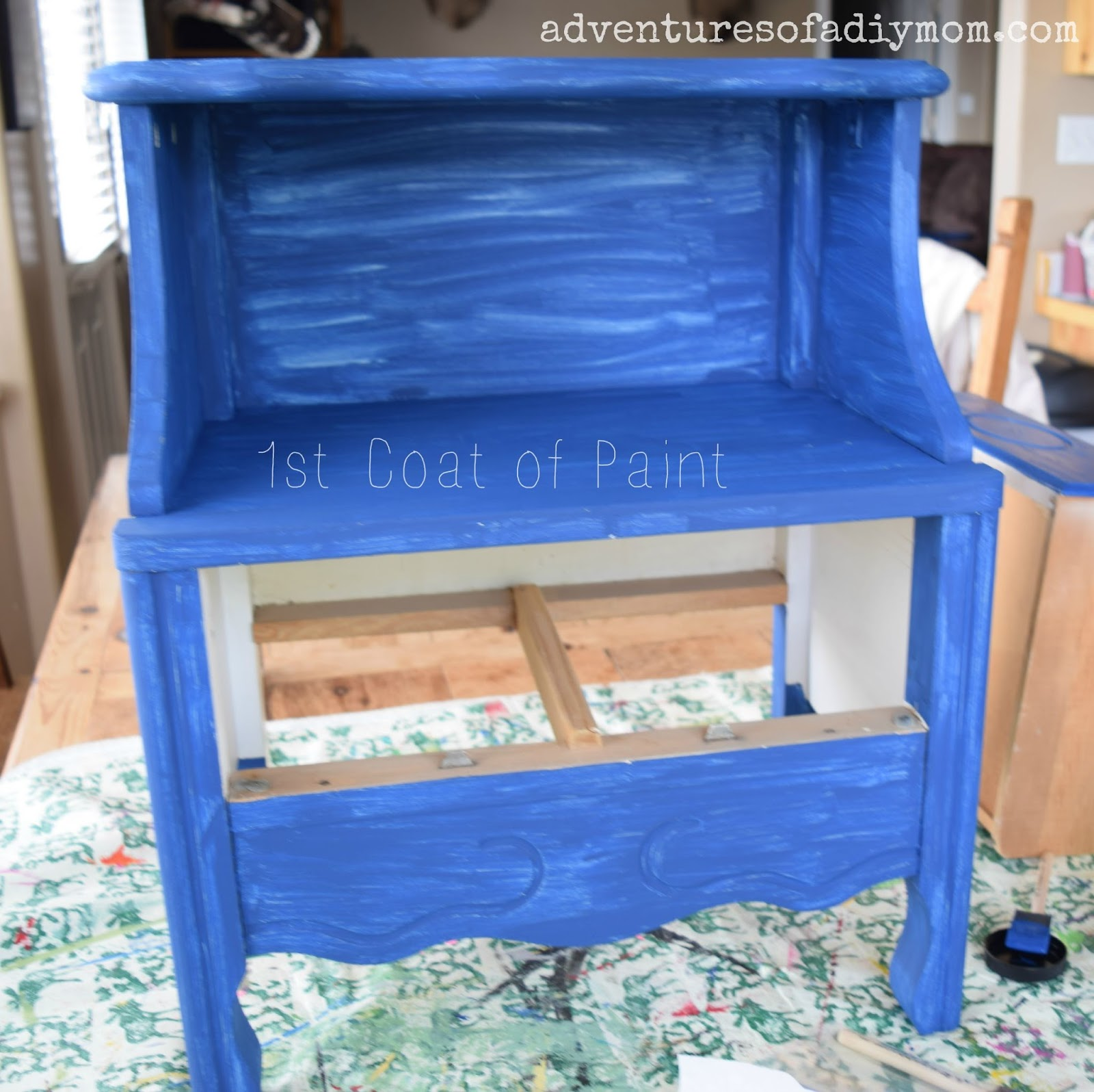 Front Porch Table - Adventures of a DIY Mom