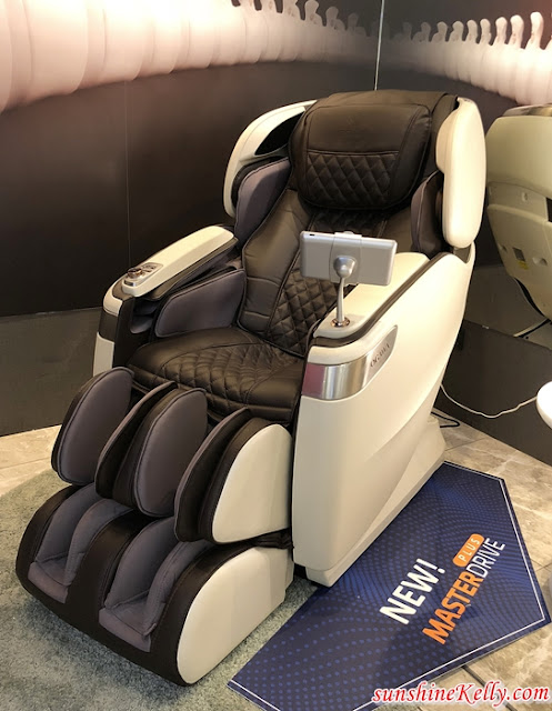OGAWA, Master Drive Plus, Master Drive Plus AI, Massage Chair, Ultimate Head-To-Toe Relaxation