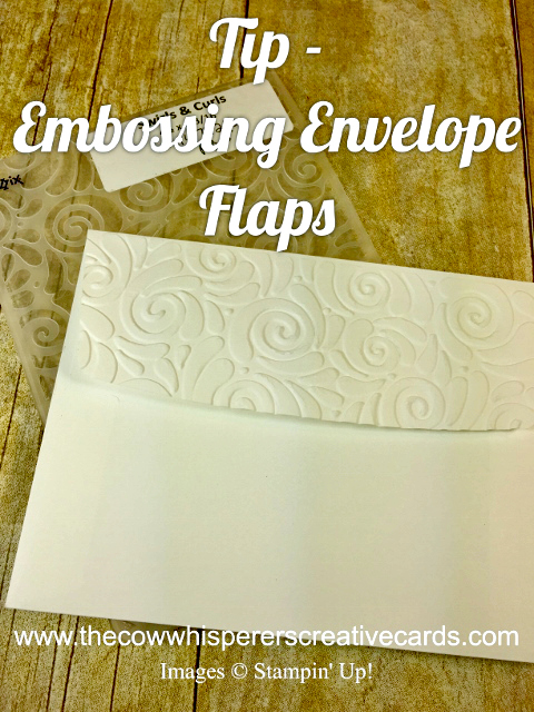 Tip, Emboss, Envelope, How to