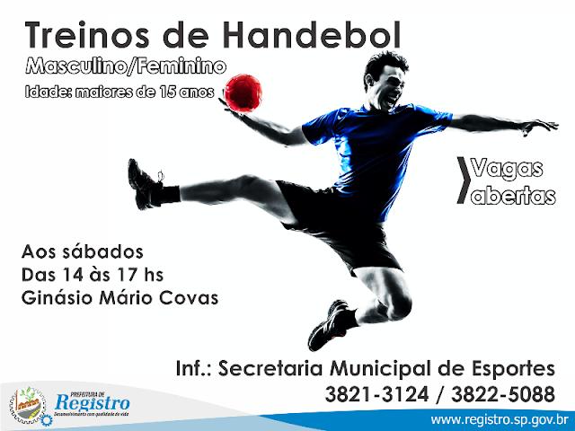 Prefeitura de Registro-SP abre inscrições para escolinhas de Basquete, Handebol, Judô, Taekwondo e Ballet Fitness