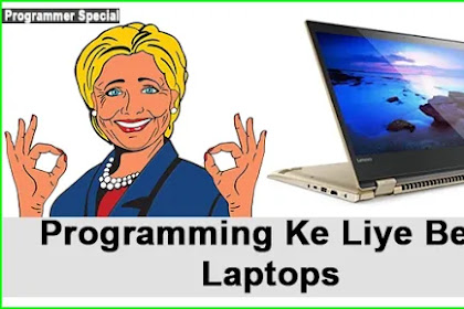 Programming Ke Liye Best Laptops-Hindi Me